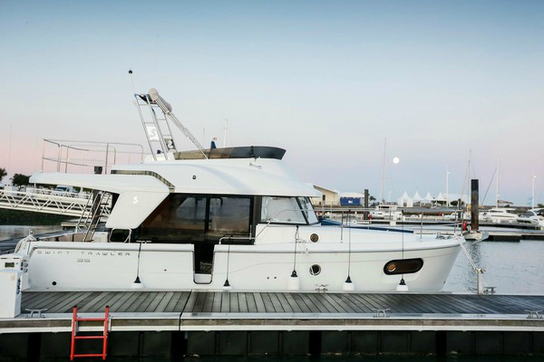 New Swift Trawler 35 Premiere