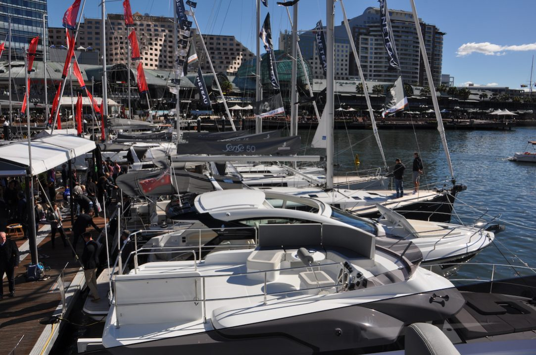 Breathtaking Beneteau at the Sydney International Boat Show