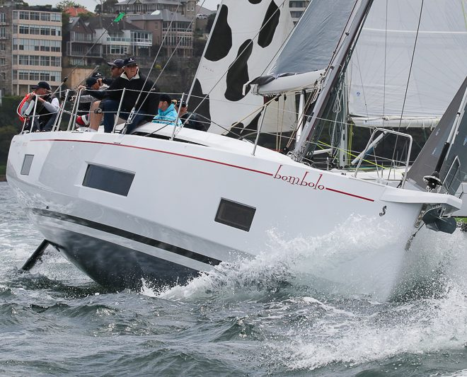 Amazing video of Bombolo – NEW Oceanis 46.1 FIRST Line
