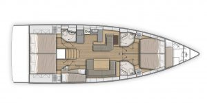 Flagstaff - Beneteau Oceanis 51.1 First Line Layout 6