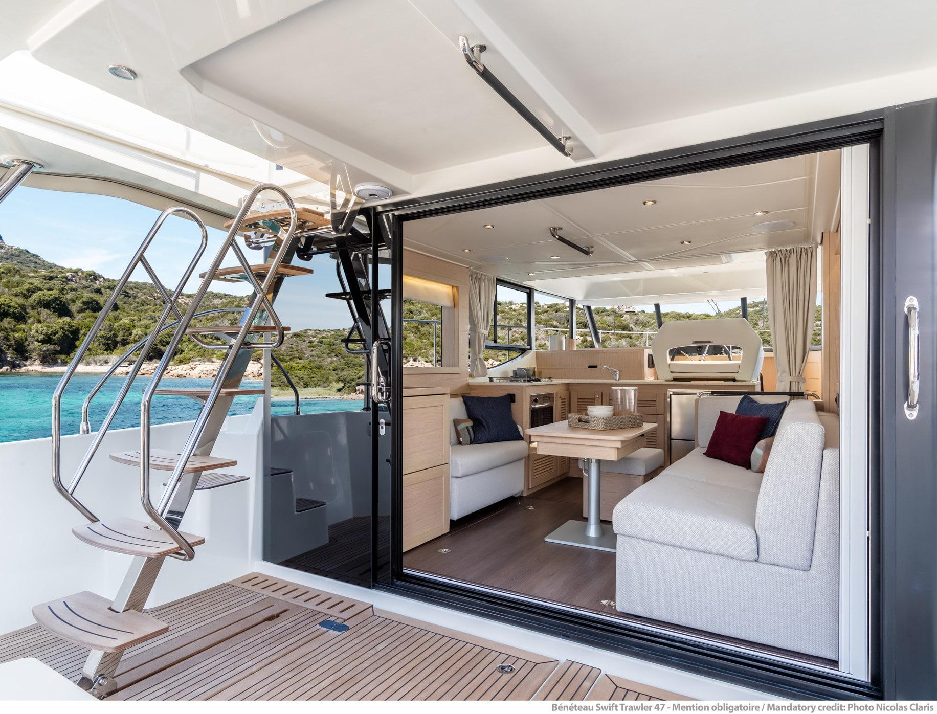 Beneteau Swift Trawler 47 Interior