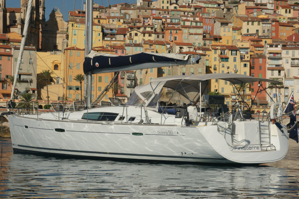 OUR FIRST EURO DELIVERY WITH THE BENETEAU OCEANIS 50