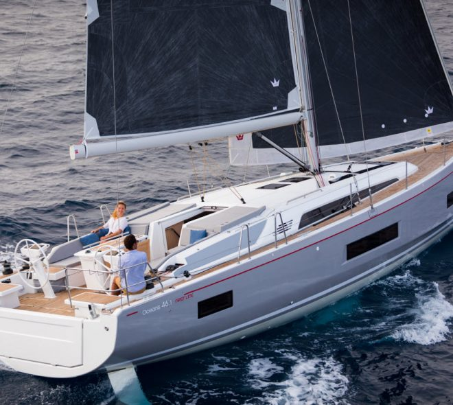 Fantastic review of Beneteau's Oceanis 46.1 in Sails Magazine