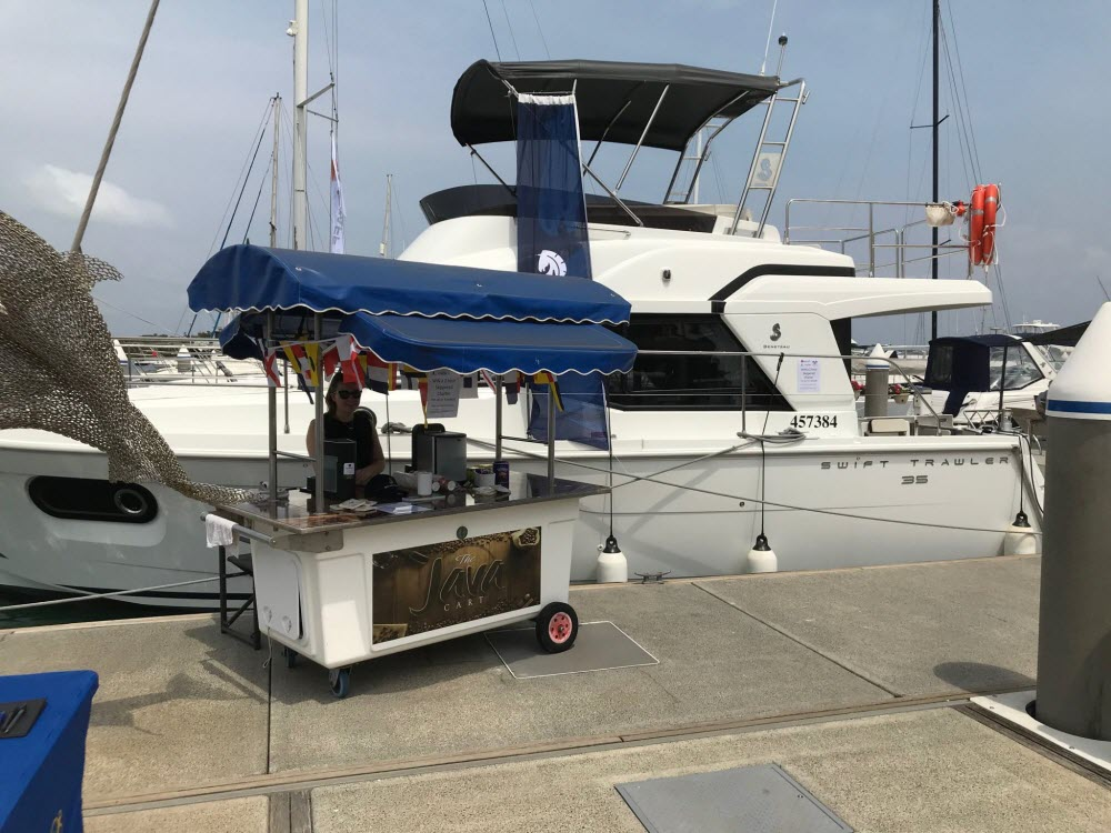 FLAGSTAFF MARINE'S BOAT BRANDS ON DISPLAY