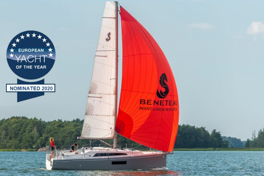 NEW OCEANIS 30.1 - LEARN TO SAIL