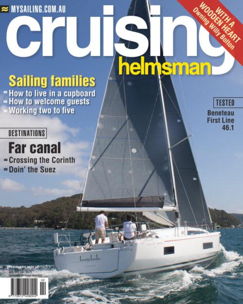 Oceanis 46.1 FIRST Line featured in Cruising Helmsman