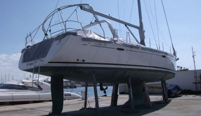 When dreams collide with reality [a personal account] Beneteau Oceanis 50