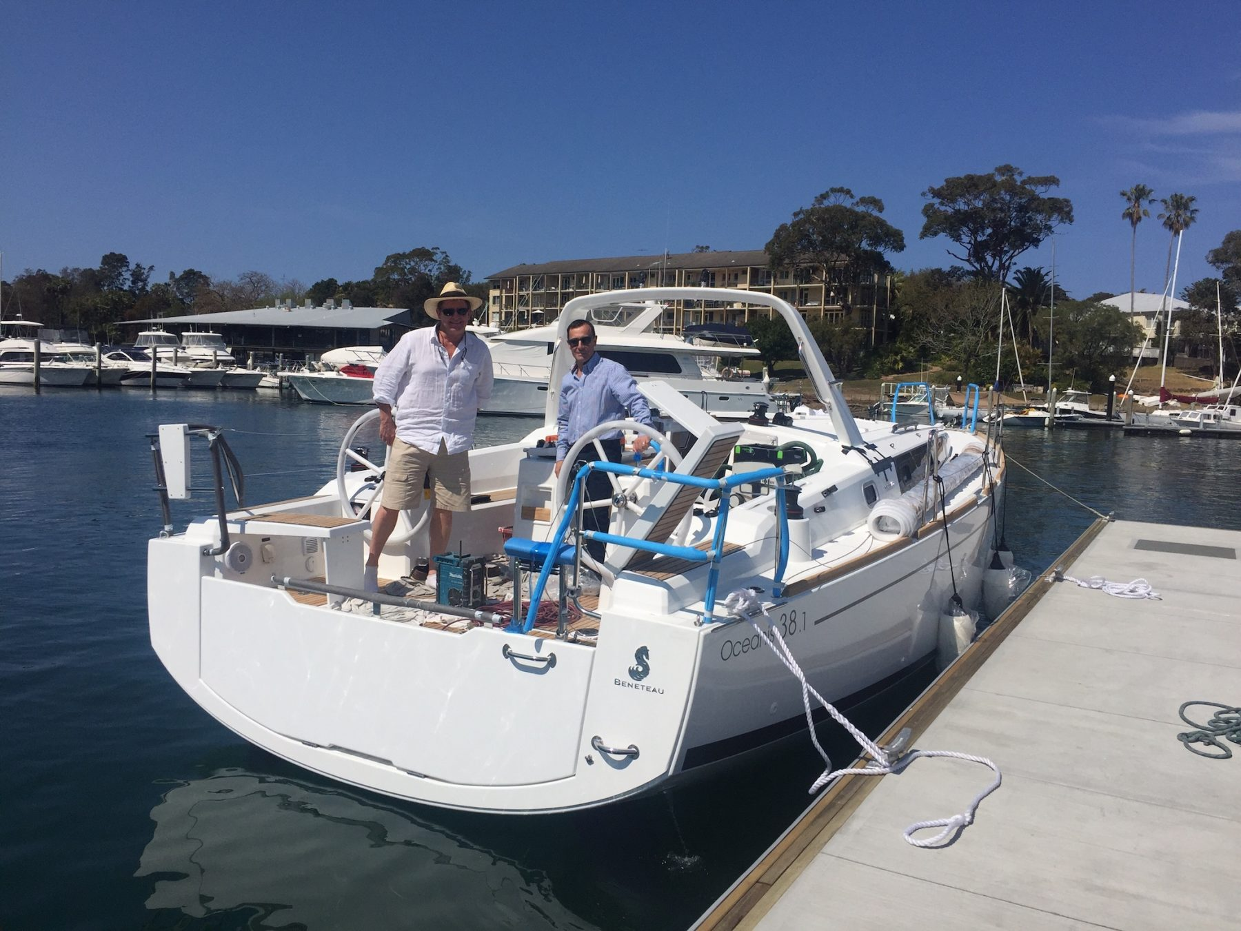 Oceanis 38.1 - A perfect compromise