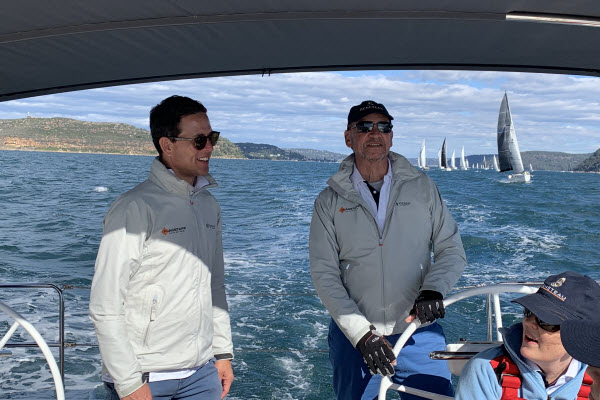 Sailing Beneteau's Oceanis 51.1 FIRST Line on Pittwater
