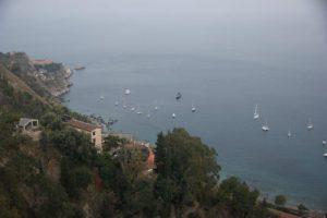 Flagstaff - Sicily-Taormina-with-Te-Anau-Below