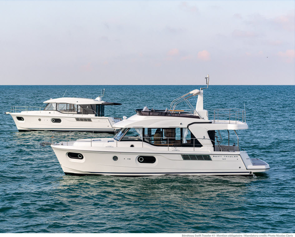 SWIFT TRAWLER 41 - FLY OR SEDAN
