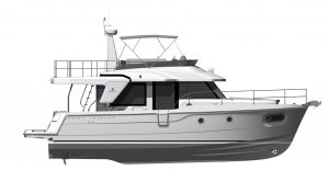 Flagstaff - Swift Trawler 41 Layout 3