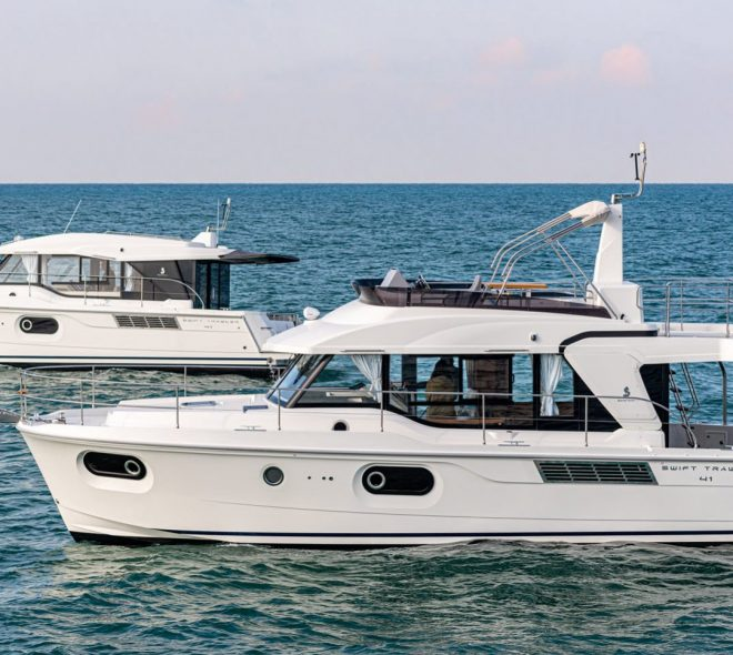 SWIFT TRAWLER 35 ENTERS SAILTIME CHARTER AT PORT STEPHENS