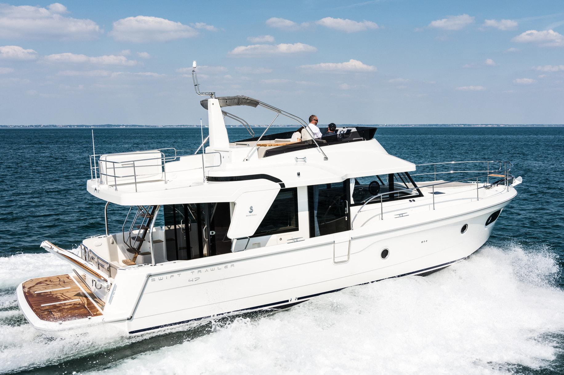 Beneteau Swift Trawler 47 On Deck