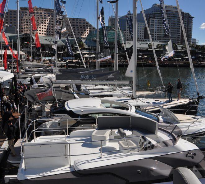Breathtaking Beneteau at the Sydney International Boat Show