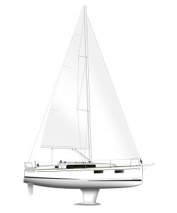 Flagstaff - Oceanis 35.1 Layout 3