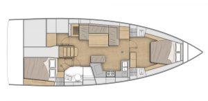 Flagstaff - Oceanis 40.1 Layout 4