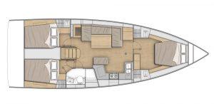 Flagstaff - Oceanis 40.1 Layout 6