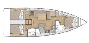 Flagstaff - Oceanis 40.1 Layout 7