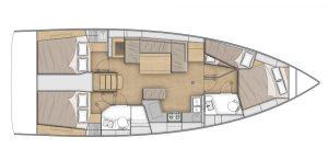 Flagstaff - Oceanis 40.1 Layout 8