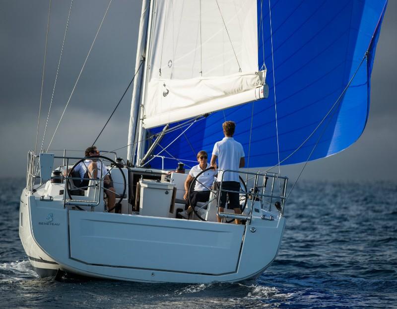 Excitement under sail
