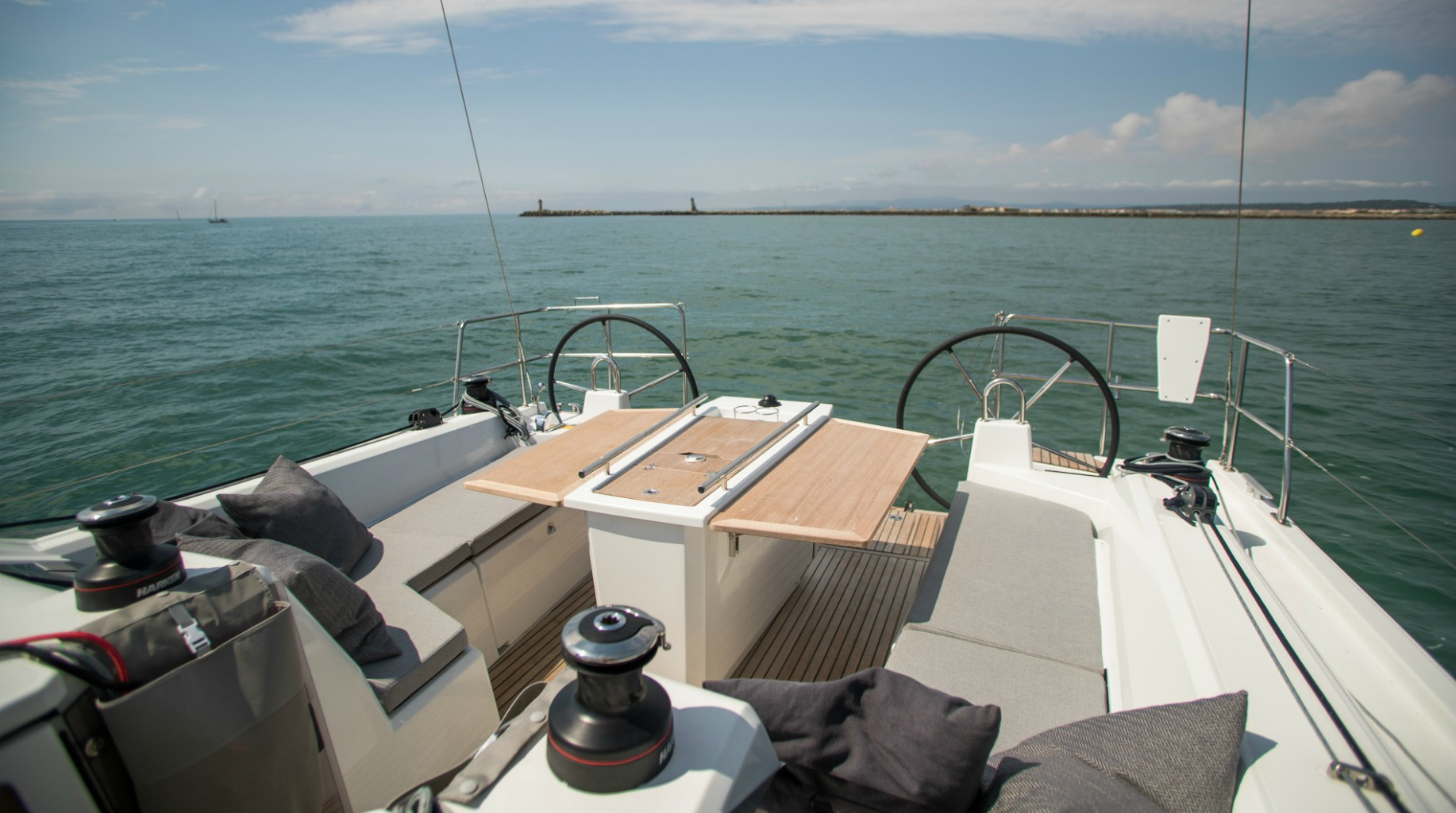 Easy to sail and spacious on deck