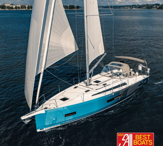 Sail Magazine announced that the Oceanis 40.1 has been awarded 'Best Monohull Cruising Boat Under 50ft' for 2021!