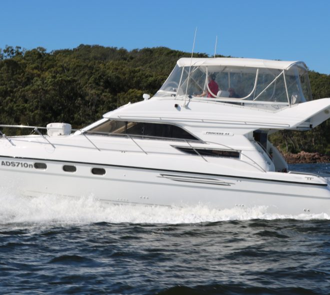 Princess 440 Flybridge Cruiser 'Eternity' Sold By Flagstaff Marine